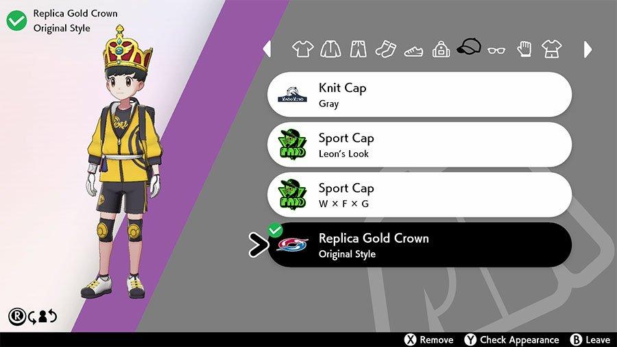Original Style Replica Gold Crown