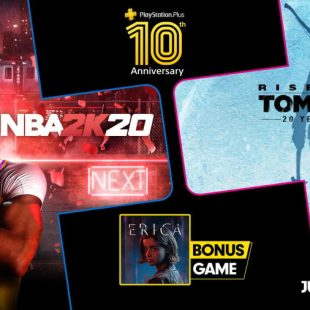 Rise of the Tomb Raider and NBA 2K20 Coming to PlayStation Plus July 2020