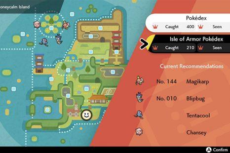 Pokemon Sword & Shield Isle Of Armor Pokedex Reward