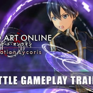 Sword Art Online Alicization Lycoris Gets Battle Gameplay Trailer