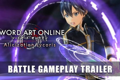 Sword Art Online Alicization Lycoris Gets Battle Gameplay Trailer