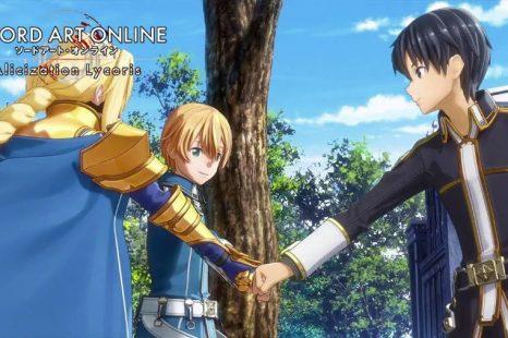 Sword Art Online Alicization Lycoris Gets Customization & Exploration Trailer
