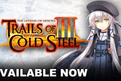 Trails of Cold Steel III Now Available for Nintendo Switch