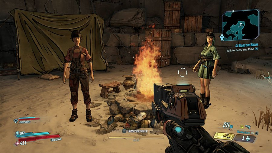 Who To Give The Beans To In Borderlands 3