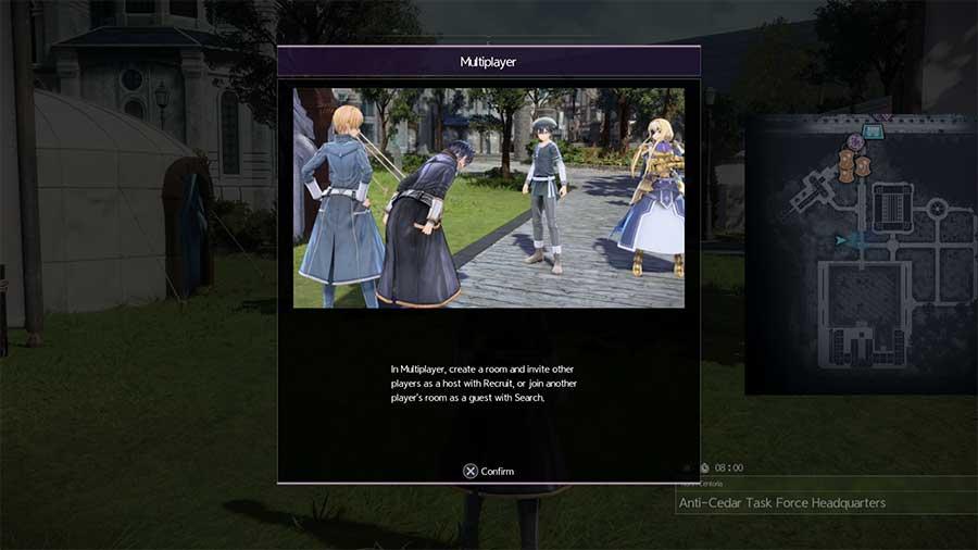 How To Unlock Multiplayer In Sword Art Online Alicization Lycoris