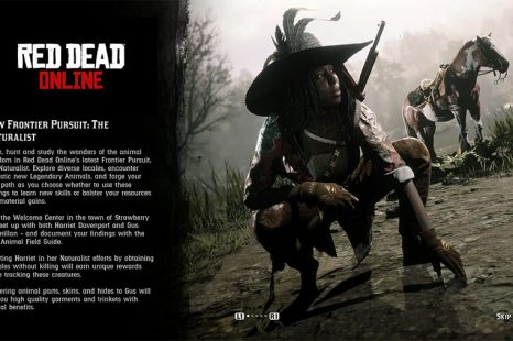 How To Unlock Naturalist In Red Dead Online