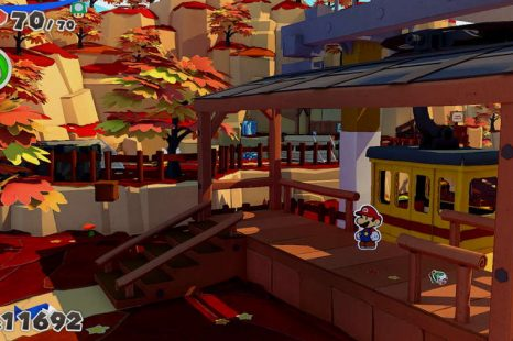Paper Mario The Origami King Autumn Mountain Toad Location Guide