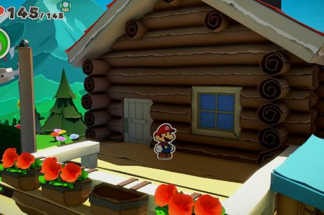 Paper Mario The Origami King How To Enter The Cabin In The Whispering Woods