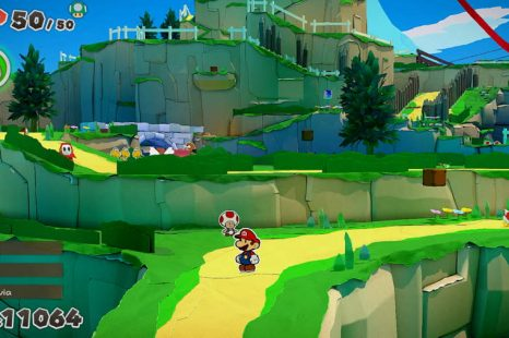 Paper Mario The Origami King Overlook Mountain Toad Location Guide