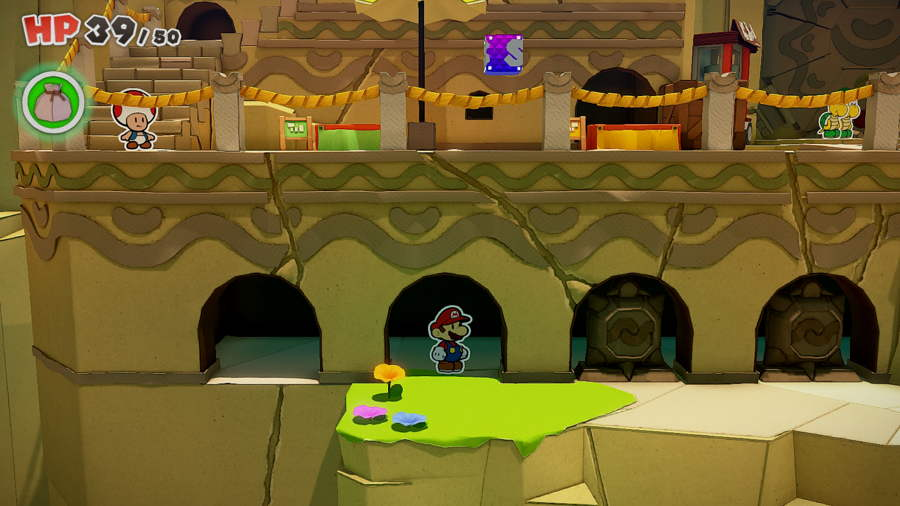 Paper Mario The Origami King Picnic Road Toad 10