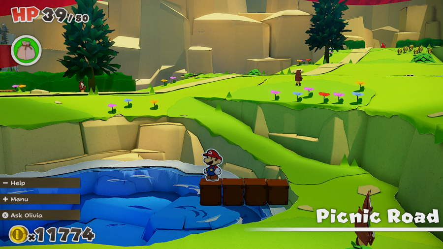 Paper Mario The Origami King Picnic Road Toad 11