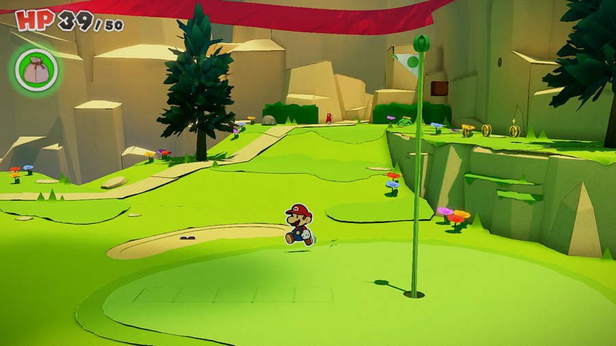 Paper Mario The Origami King Picnic Road Toad 12