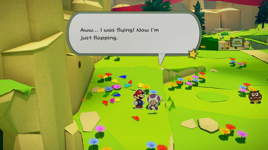 Paper Mario The Origami King Picnic Road Toad 6