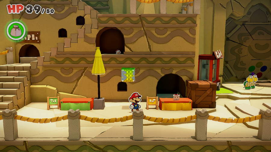 Paper Mario The Origami King Picnic Road Toad 7