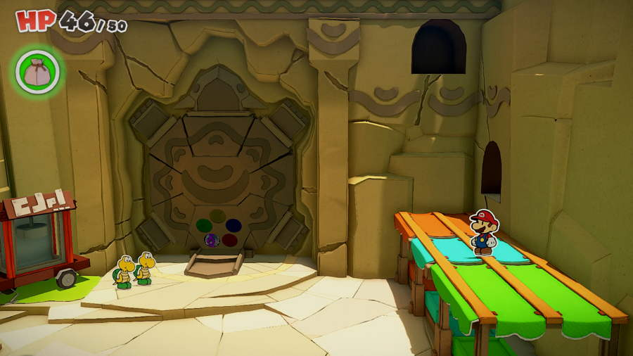 Paper Mario The Origami King Picnic Road Toad 8