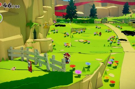 Paper Mario The Origami King Picnic Road Toad Location Guide