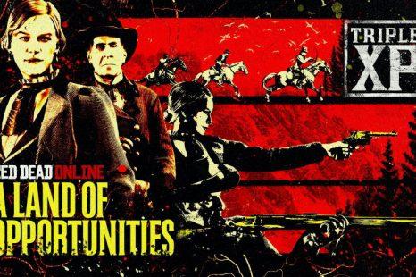 Triple XP Opportunities in Red Dead Online This Week