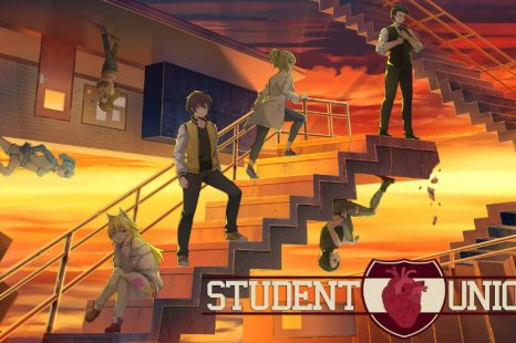 Dark Romance Visual Novel Student Union Demo Now Available