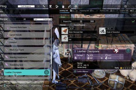 Sword Art Online Alicization Lycoris How To Unlock More Recipes Guide