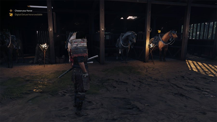 What Horse To Choose In Ghost of Tsushima
