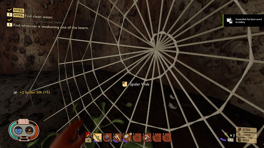 Where To Find Spider Silk In Grounded