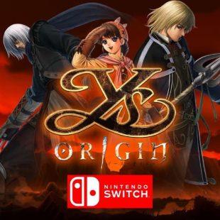 Ys Origin Coming to Nintendo Switch in 2020