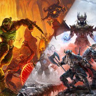 DOOM Eternal and The Elder Scrolls Online Coming to Next Gen Consoles