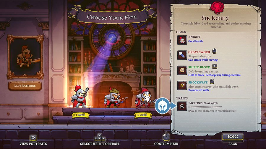 How To Unlock More Traits In Rogue Legacy 2