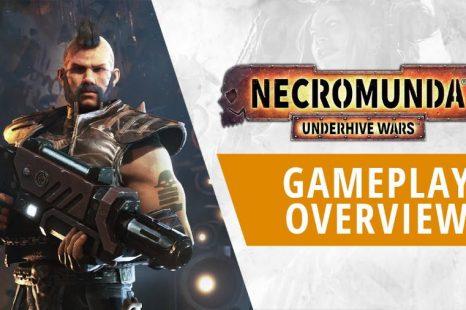 Necromunda: Underhive Wars Gets Gameplay Overview Trailer