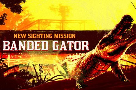 Legendary Banded Gator in Red Dead Online This Week