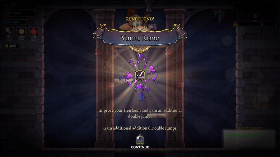 Rogue Legacy 2 Runes & Upgrades
