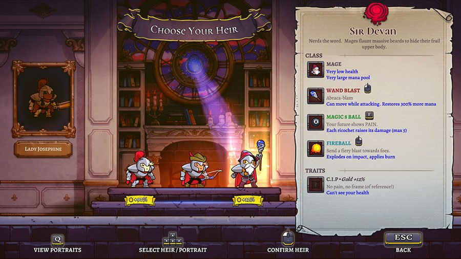 What Are Traits In Rogue Legacy 2