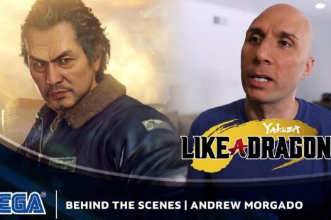 Yakuza: Like a Dragon Gets Andrew Morgado Interview