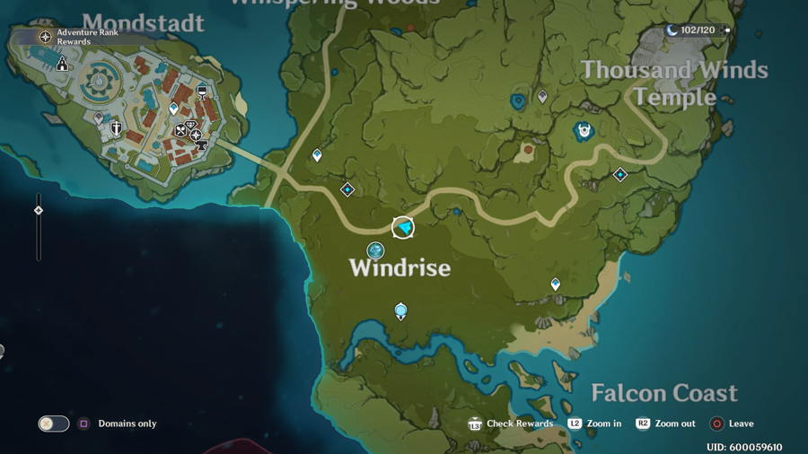 Anemoculus Windrise Location 2