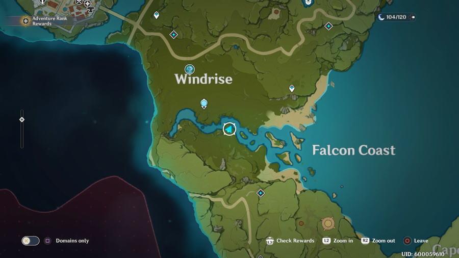 Anemoculus Windrise Location 6