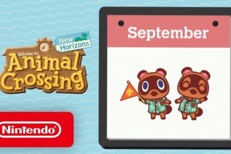 Animal Crossing: New Horizons September Update Detailed