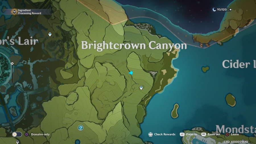 Brightcrown Canyon Anemoculus 4