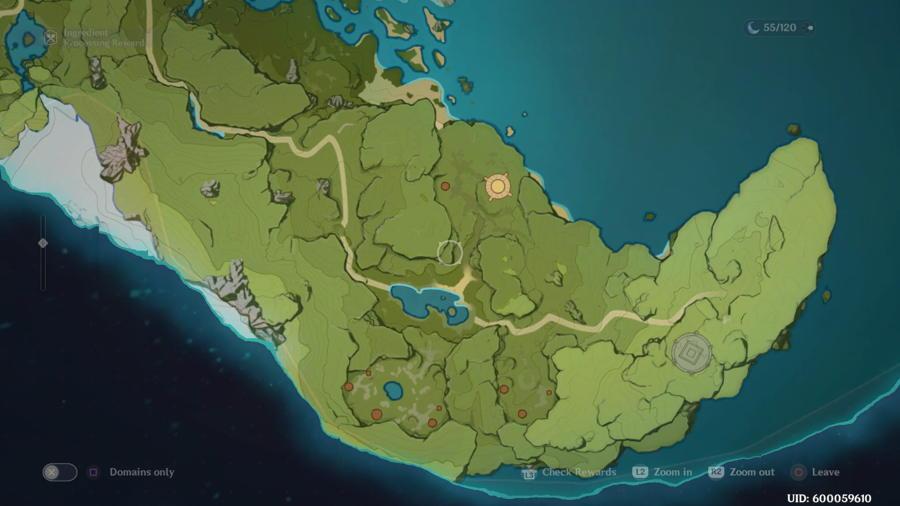 Dadaupa Gorge Anemoculus Location 6 1