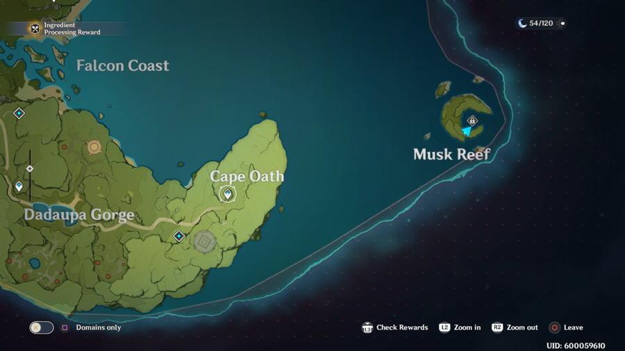 Dadaupa Gorge Anemoculus Location 4