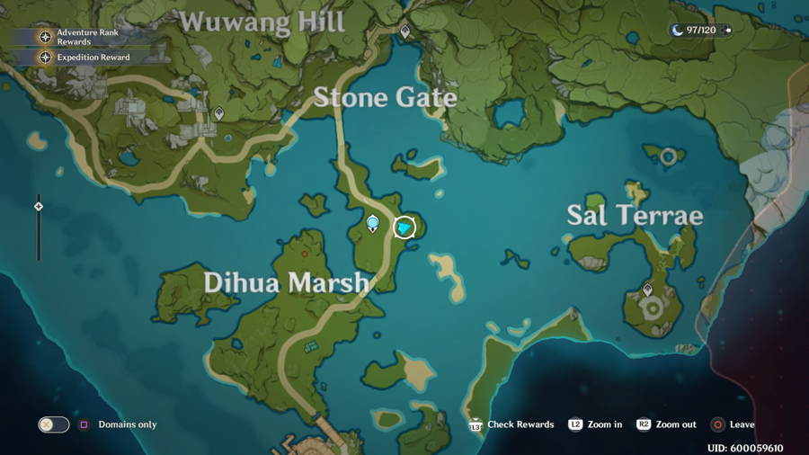 Genshin Impact Geoculus Location Guide