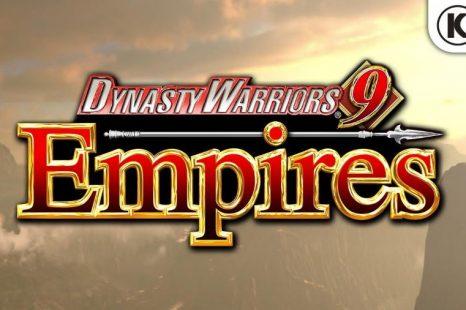 Dynasty Warriors 9: Empires Announced