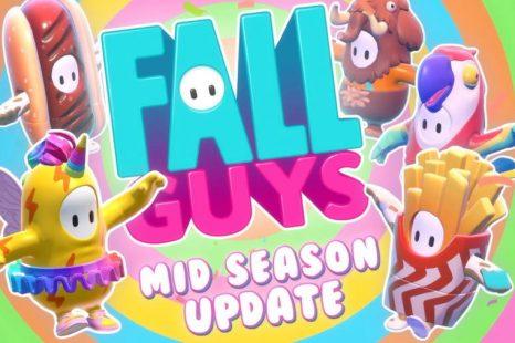 Fall Guys Getting Season 1 Mid Season Update Today