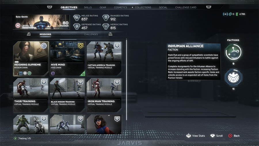 How To Increase Inhuman Alliance Faction XP In Marvel's Avengers