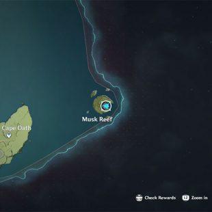 How To Reach Musk Reef In Genshin Impact
