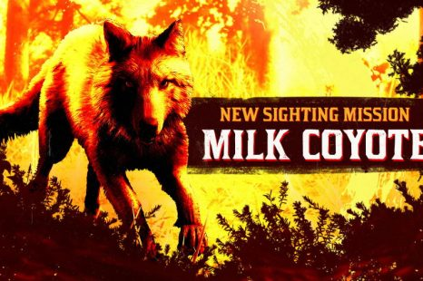 New Legendary Milk Coyote Sighting Mission This Week in Red Dead Online
