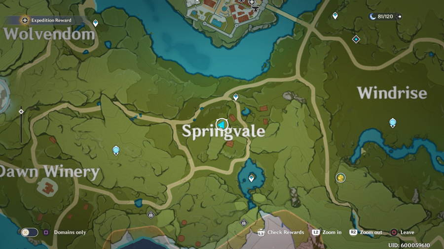 Springvale Anemoculus 5
