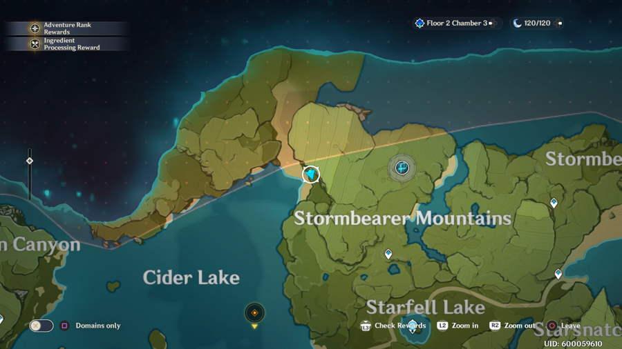Stormbearer Mountain Anemoculus 2