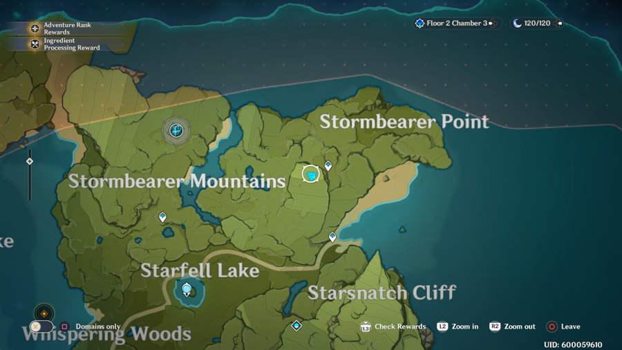 Stormbearer Mountain Anemoculus 3