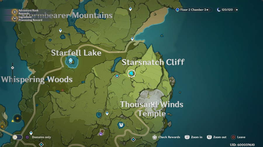 Stormbearer Mountain Anemoculus 4
