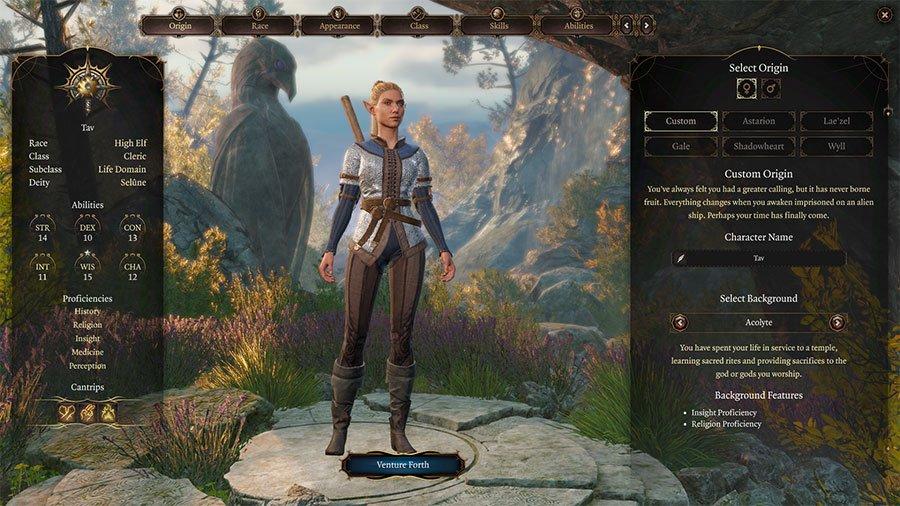 Baldur's Gate 3 Character Creation Guide